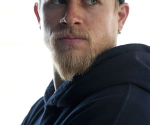 blue eyes, Charlie Hunnam, and rock image