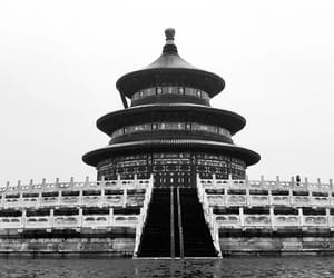 architecture, building, and beijing image