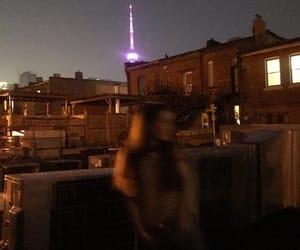 aesthetic, blurry, and city image