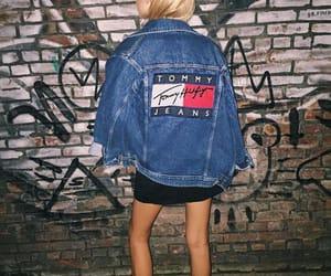 tommy hilfiger, jacket, and jeans image