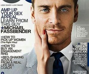 gq and michael fassbender image