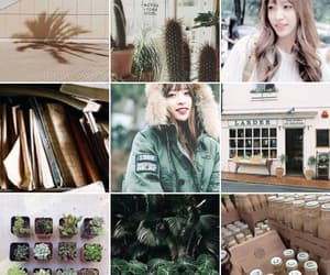 aesthetic, exid, and brown image
