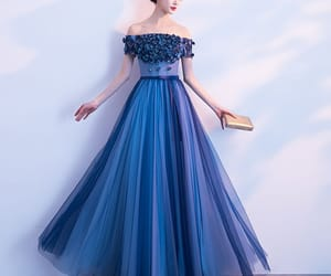 crystal, prom dresses, and formal dresses image