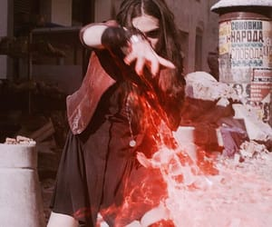 Avengers, scarlet witch, and Marvel image