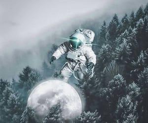 aesthetics, artist, and astronaut image