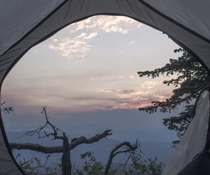 camp, nature, and pretty image