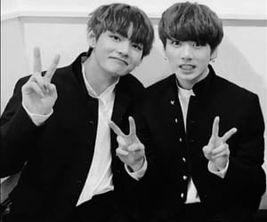 vkook, v, and bts image