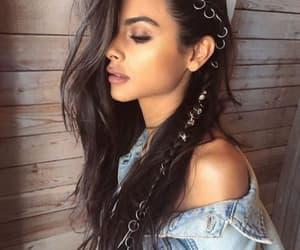 girl, hair, and coachella image