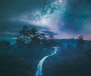 beautiful, lights, and nighttime image