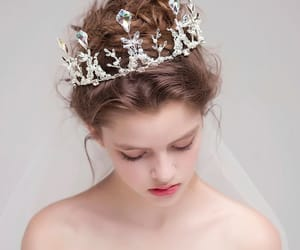 crown, girl, and princess image