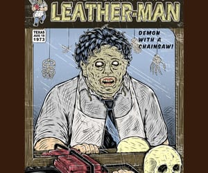 horror, texas chainsaw massacre, and leatherface image