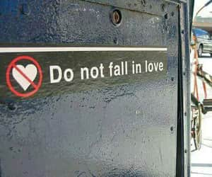 falling, please, and love image