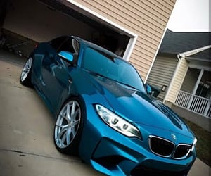 bmw, car, and rims image