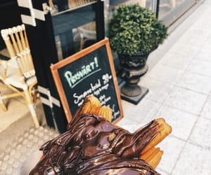 chocolate, summer, and churros image