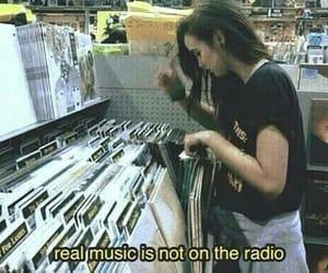 music, grunge, and radio image