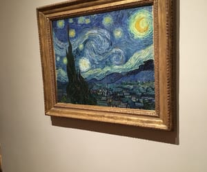 art, new york, and starry night image