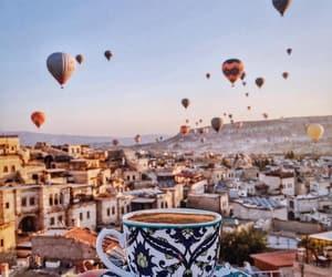 cappadocia, turkey, and coffee image
