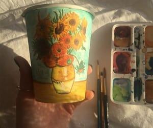 van gogh, art, and painting image