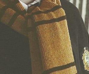 harry potter, hufflepuff, and hogwarts image