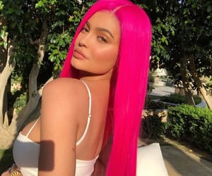 kylie jenner, coachella, and pink image