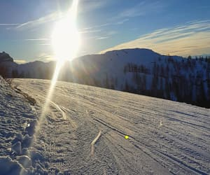 austria, nature, and Skiing image