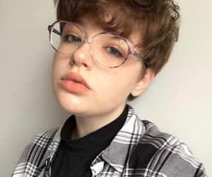 girl, short hair, and cute image