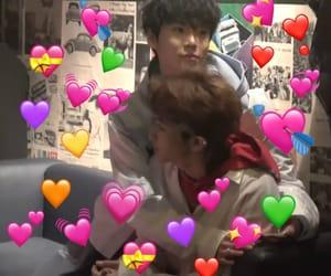 boys, heart, and kpop image