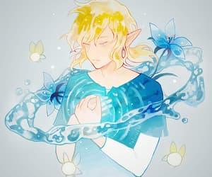 link, zelda, and manga boy image