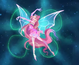 flora, winx club, and enchantix image