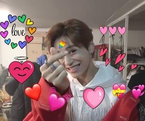 boys, hearts, and kpop image