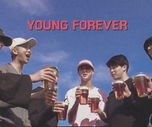 bts, young forever, and seokjin image