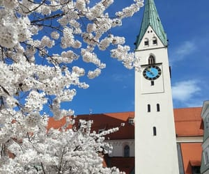 Alps, church, and spring image