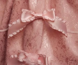 aesthetic, dress, and pink image
