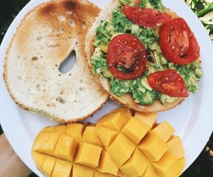 food, fruit, and mango image