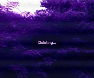 delete, grunge, and nature image