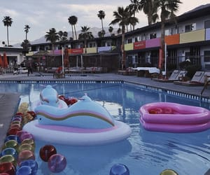 cali, california, and pool image