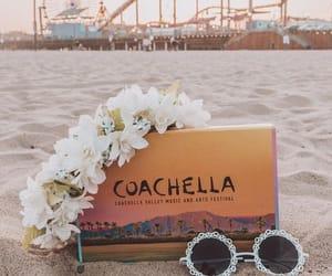beach, coachella, and festival image
