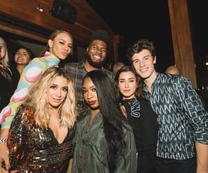 shawn mendes, fifth harmony, and lauren jauregui image