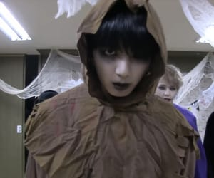 black, Halloween, and emo image
