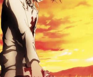 anime, gun, and Hot image