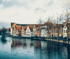 travel, Brugge, and city image