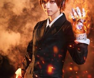 cosplay, katekyo hitman reborn!, and tsuna sawada image