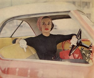 vintage, car, and 50s image