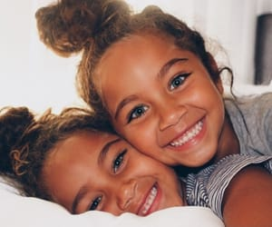 sisters and smile image
