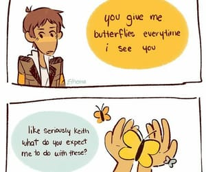 fluff, klance, and keith image