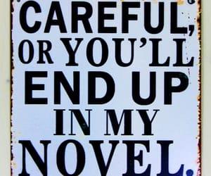 author, novel, and writing image