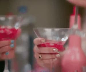 drinks, jesy nelson, and gif image