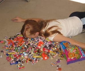candy, girl, and grunge image
