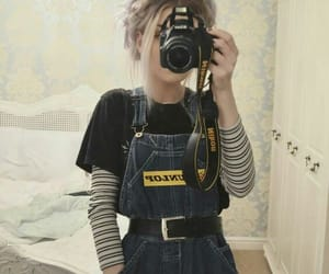 fashion, outfit, and camera image