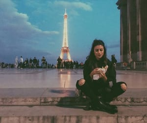 beauty, girl, and paris image